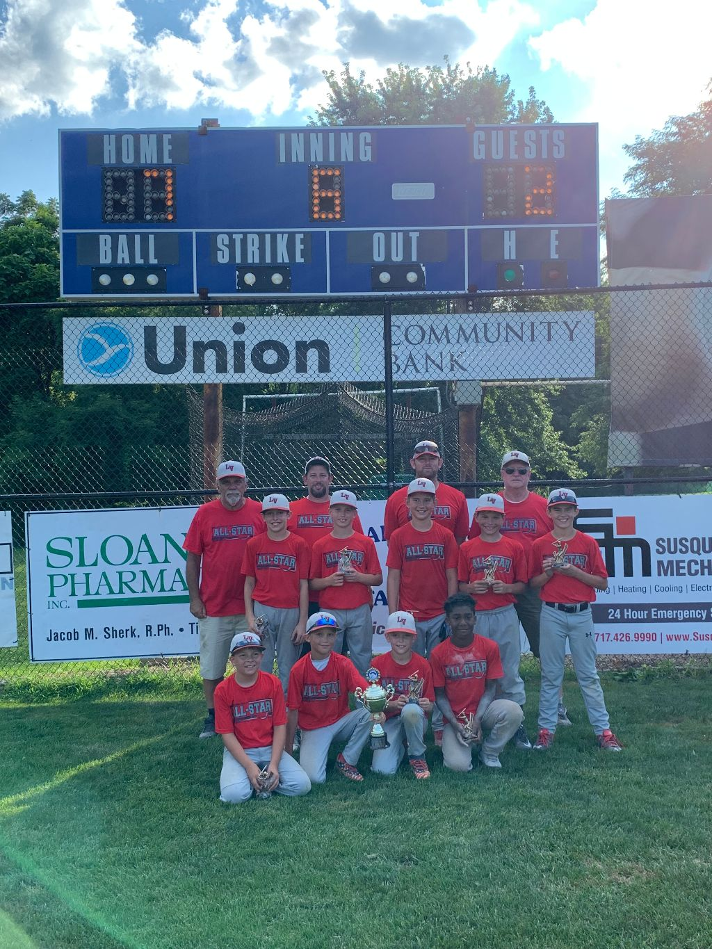 2019 Elizabethtown Bears Cup 10U Champion - Lebanon Valley
