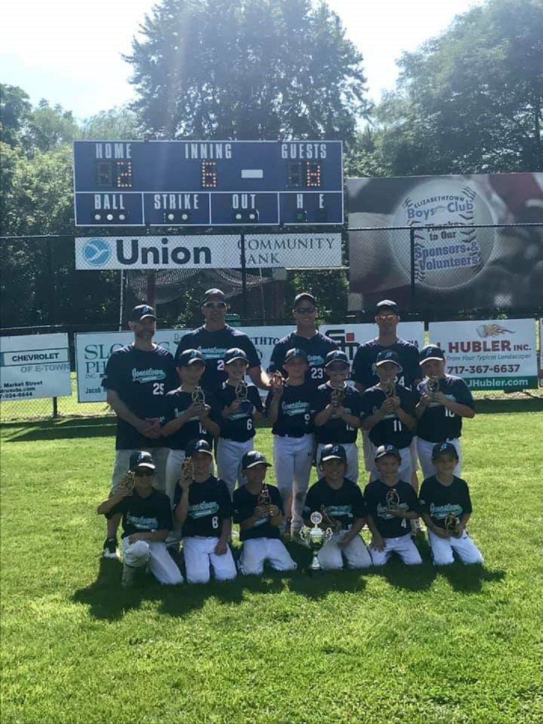 2019 Elizabethtown Bears Cup 8U Champion - Northern Lebanon